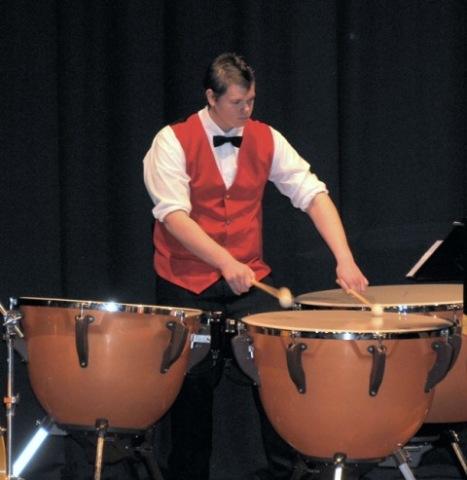 Percussionist Cameron